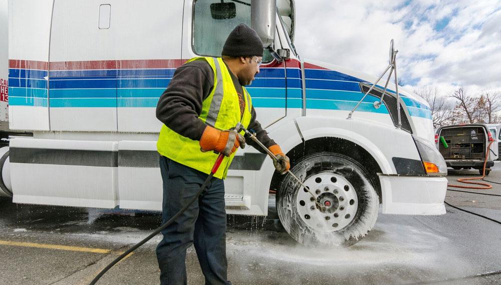 mobile truck wash Sydney