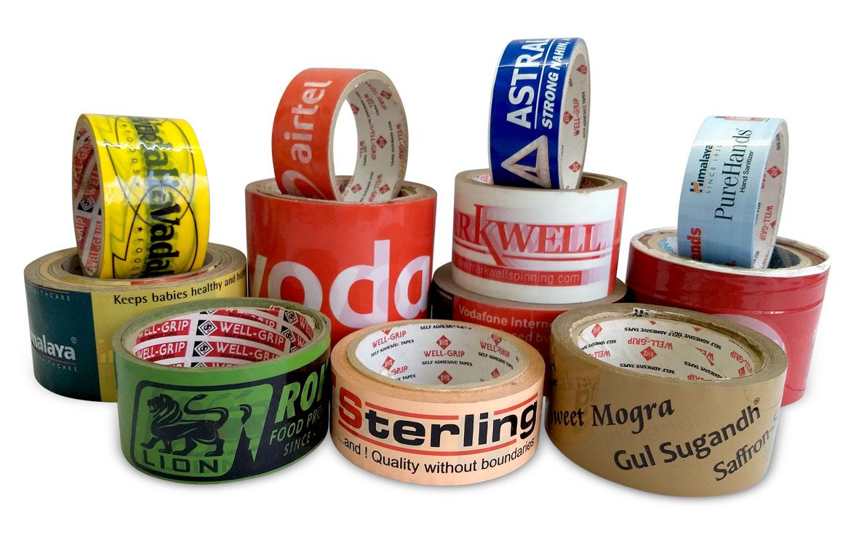 custom printed tape.