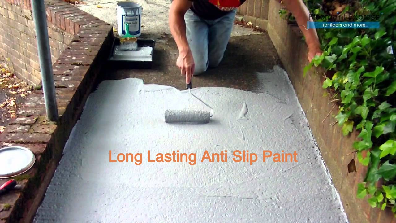 Long Lasting Anti Slip Paint