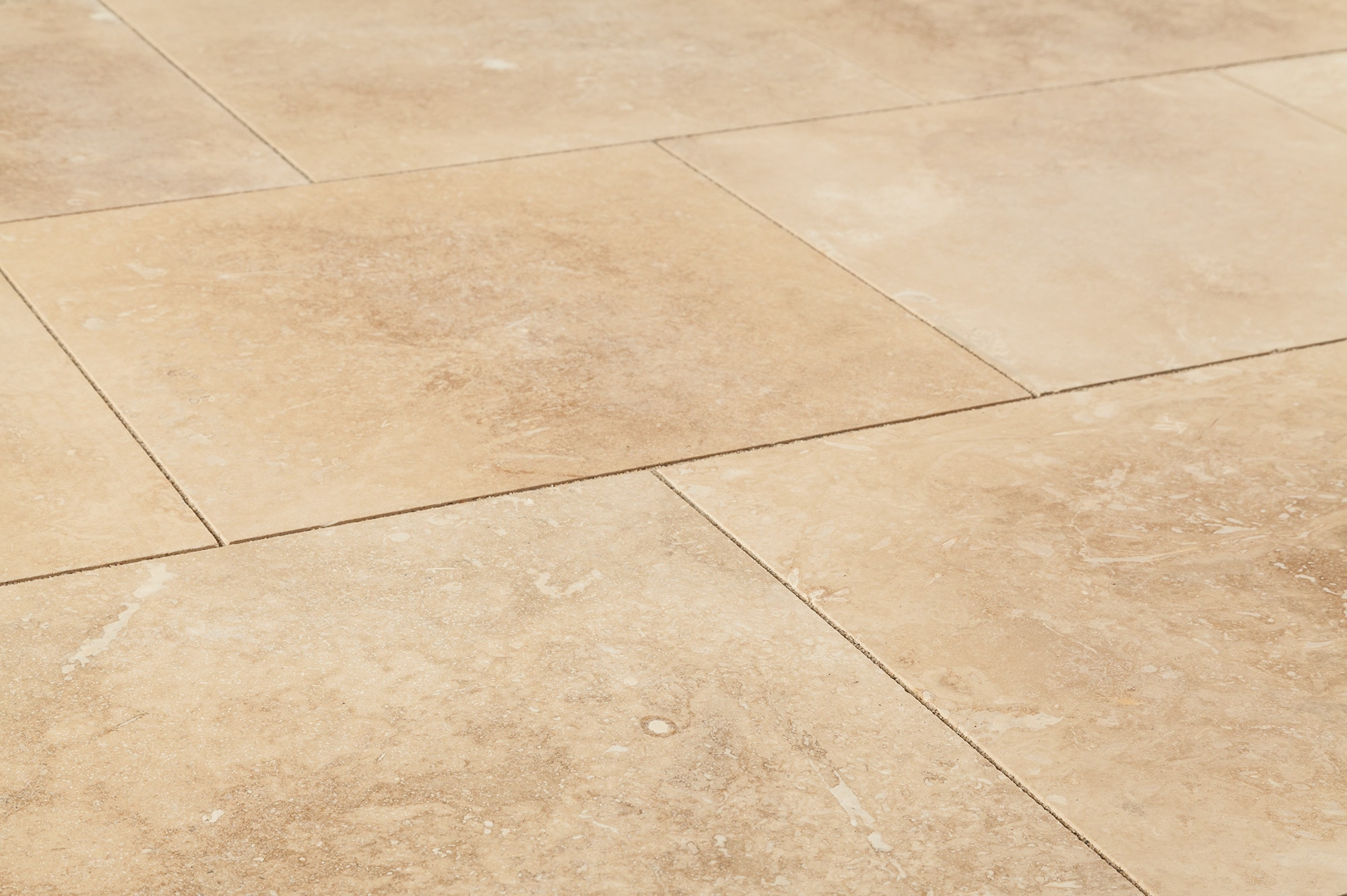 Floor Brown Travertine tiles