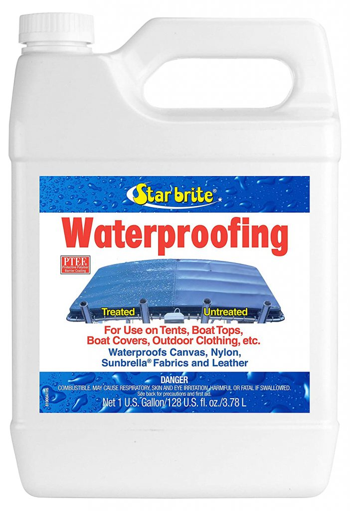 waterproofing products such as mortar