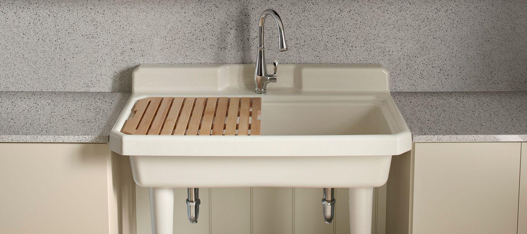 ceramic laundry tub