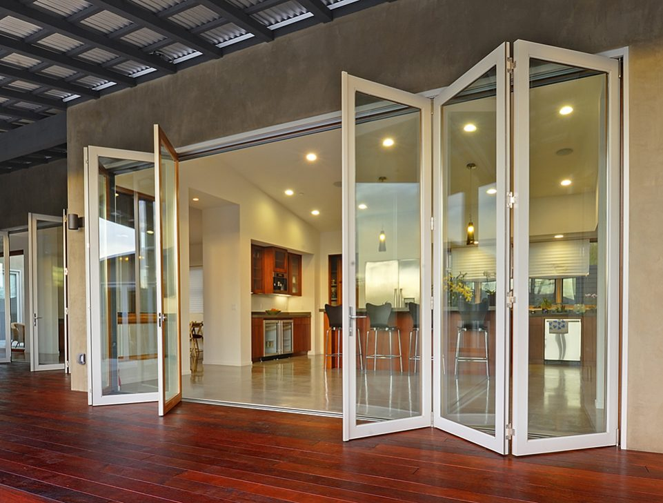Aluminium sliding doors and windows
