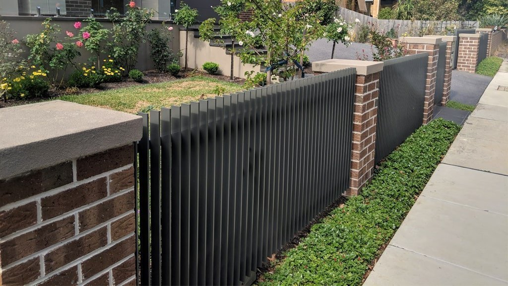Steel Fencing central coast