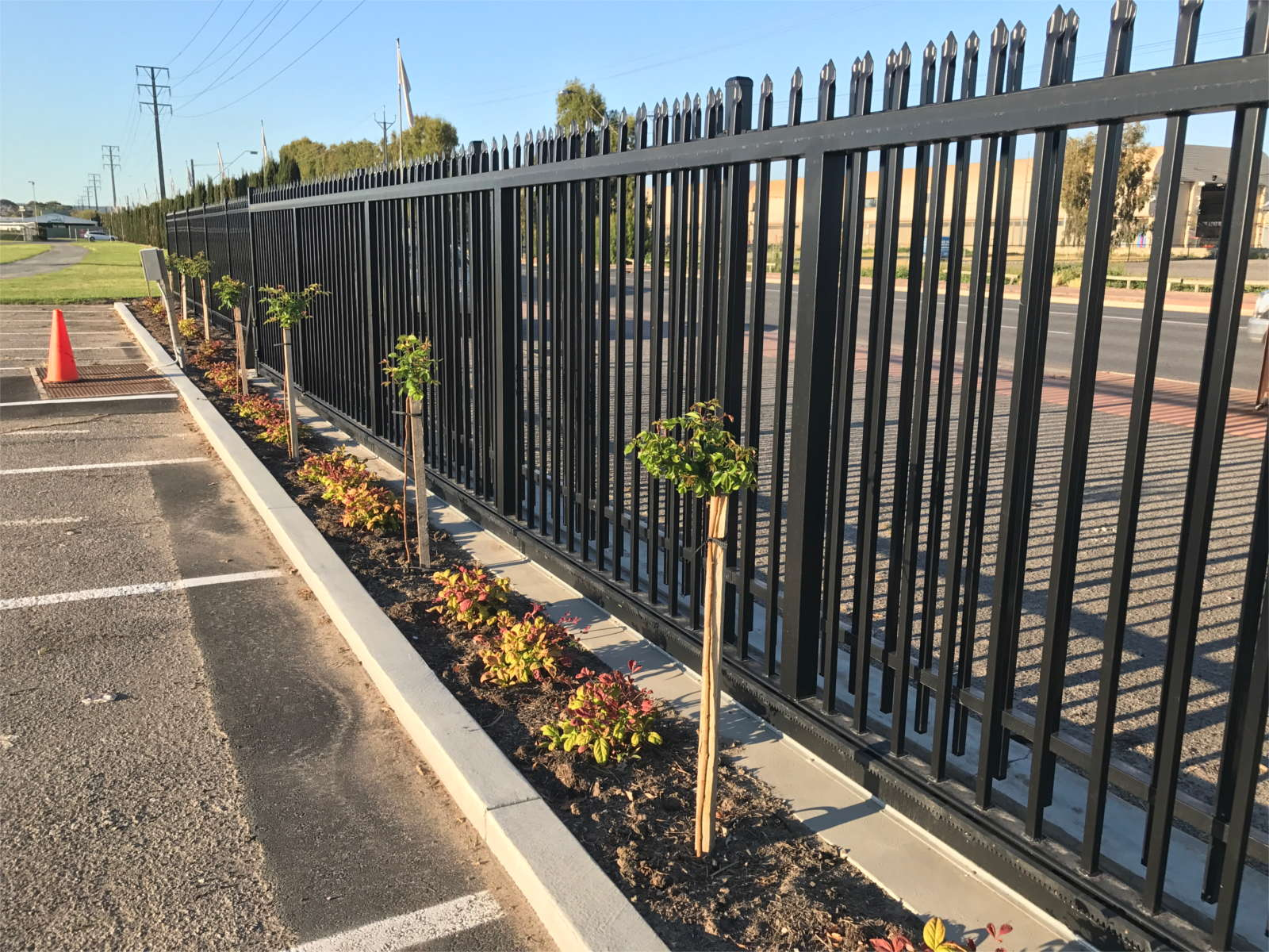 Tubular Fencing Newcastle