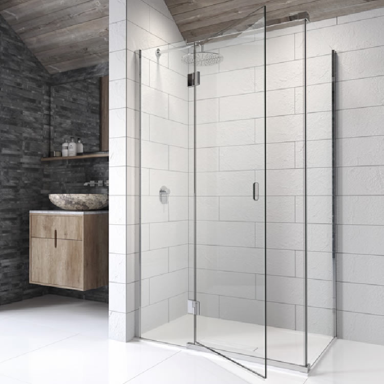 Hinged Shower Screen
