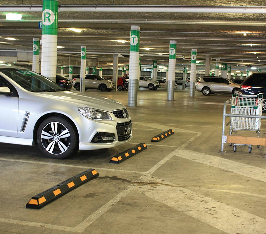 car park wheel stops