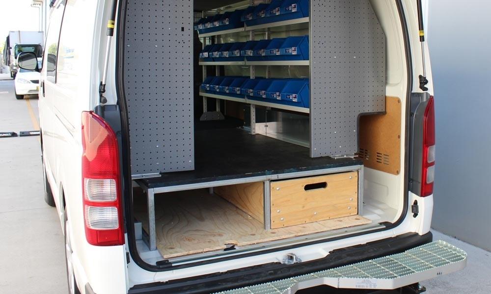 Van fit outs Sydney