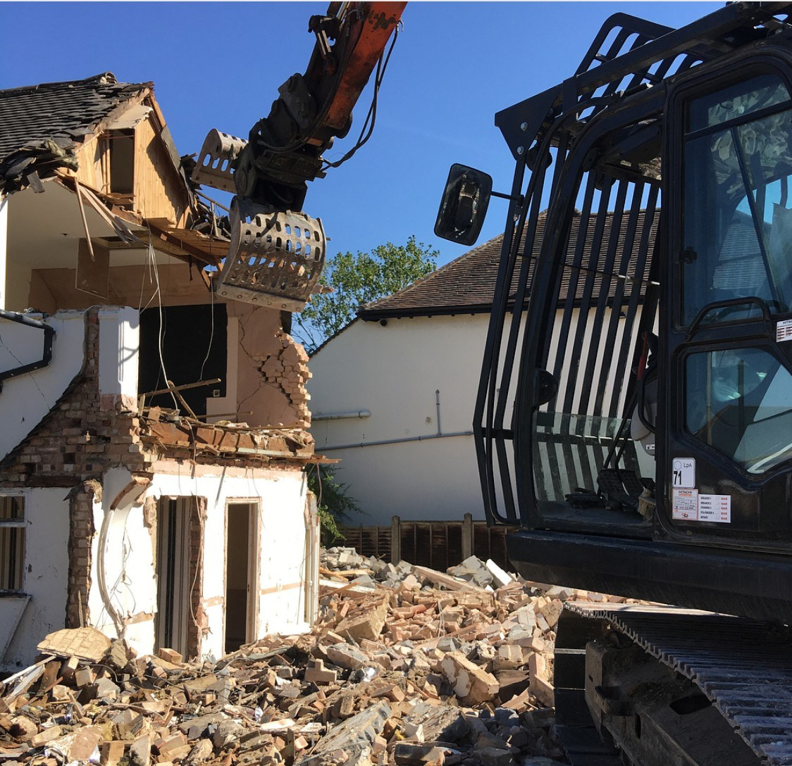 Residential demolition Neutral Bay