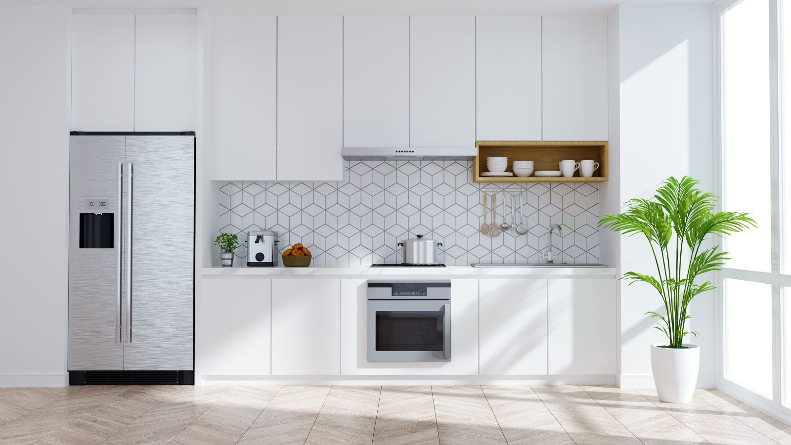 assembled kitchen cupboards in sydney