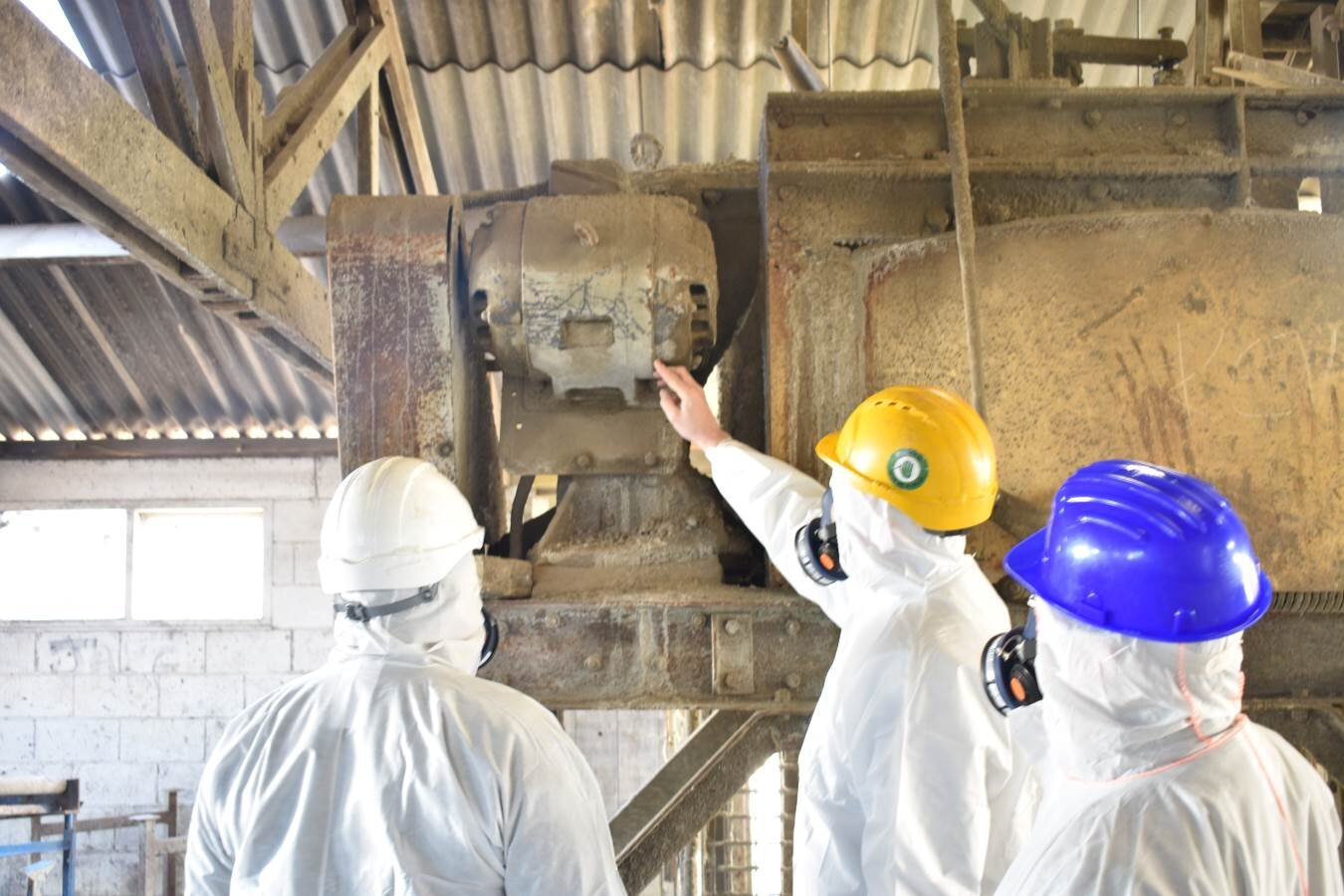 Asbestos contractors